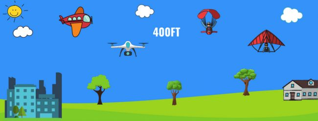 Drone traffic guidelines
